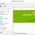 Nvidia Control Panel Missing Error Windows 10